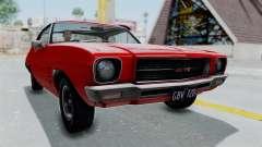 Holden Monaro GTS 1971 AU Plate HQLM para GTA San Andreas
