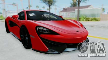 McLaren 570S 2016 para GTA San Andreas