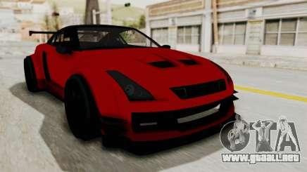 GTA 5 Annis Elegy Twinturbo No Spec para GTA San Andreas