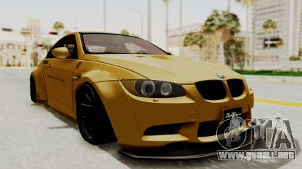 BMW M3 E92 Liberty Walk para GTA San Andreas