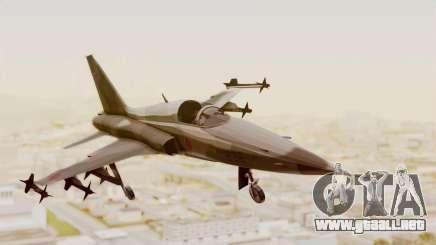 Northrop F-5E Tiger II JASDF para GTA San Andreas