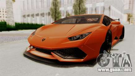 Lamborghini Huracan Libertywalk Kato Design para GTA San Andreas