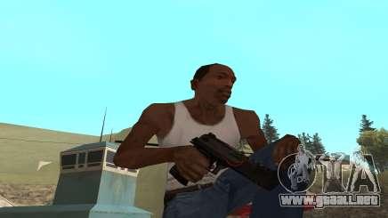 Redline weapon pack para GTA San Andreas