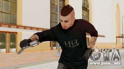 GTA 5 Tattooist v1 para GTA San Andreas