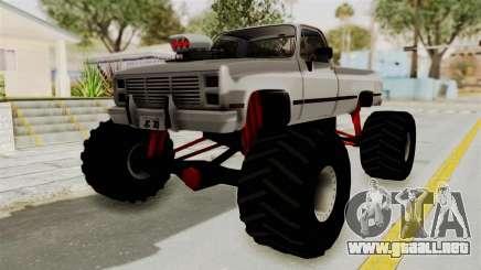 Chevrolet Silverado Classic 1985 Monster Truck para GTA San Andreas