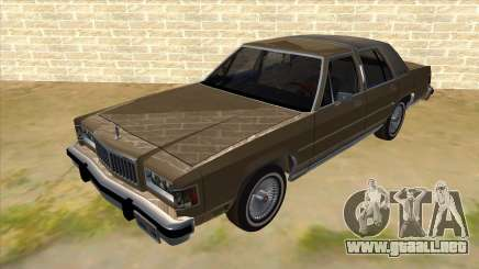 Mercury Grand Marquis 1986 v1.0 para GTA San Andreas