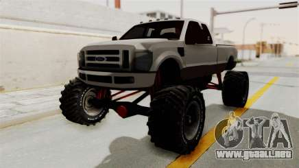 Ford F-350 Super Duty Monster Truck para GTA San Andreas