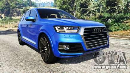 Audi Q7 2015 [rims2] para GTA 5