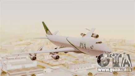 Boeing 747-200 Pakistan International para GTA San Andreas