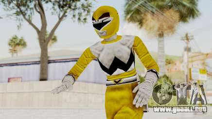 Power Rangers Lost Galaxy - Yellow para GTA San Andreas