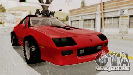 Chevrolet Camaro 1990 IROC-Z Rusty Rebel para GTA San Andreas