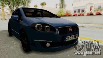 Fiat Linea 2011 para GTA San Andreas