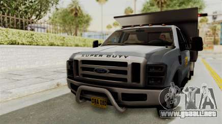 Ford F-350 Super Duty Volqueta para GTA San Andreas