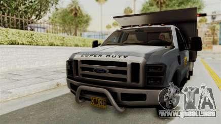 Ford F-350 Super Duty Volqueta para GTA San Andreas