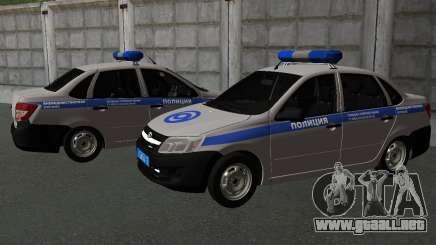 Lada Granta de seguridad Privada para GTA San Andreas
