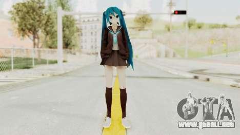 Project Diva F2nd - Hatsune Miku (Rolling Girl) para GTA San Andreas segunda pantalla