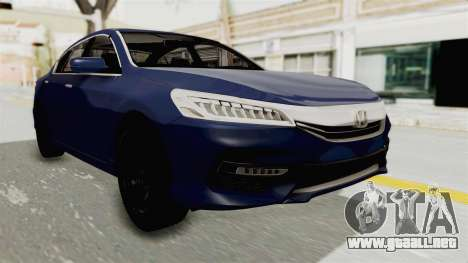 Honda Accord 2017 para GTA San Andreas