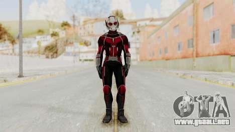 Captain America Civil War - Ant-Man para GTA San Andreas segunda pantalla
