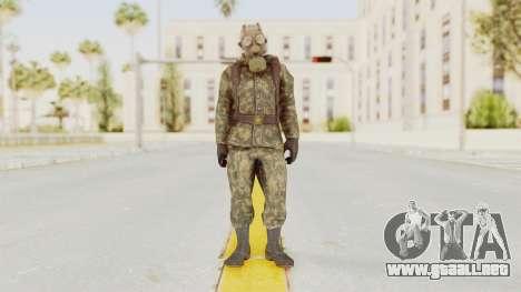 COD Black Ops Russian Spetznaz v3 para GTA San Andreas segunda pantalla