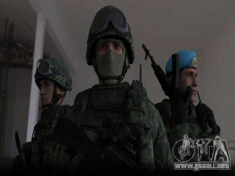 Modern Russian Soldiers pack para GTA San Andreas
