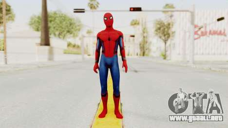 Marvel Heroes - Spider-Man (Civil War) para GTA San Andreas segunda pantalla