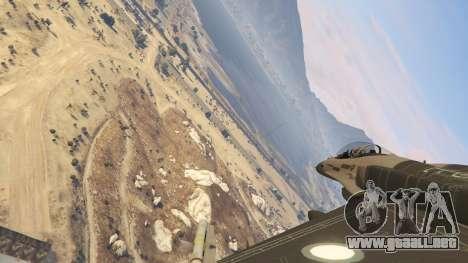 GTA 5 F-16C Block 52 sexta captura de pantalla