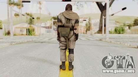 MGSV The Phantom Pain Venom Snake Scarf v3 para GTA San Andreas tercera pantalla