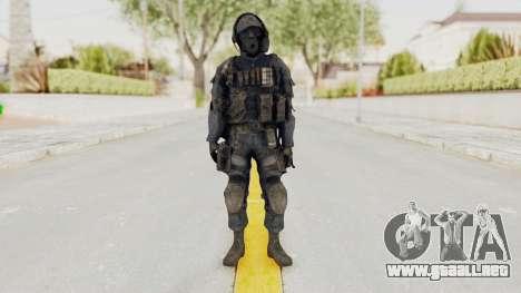 CoD MW3 SAS para GTA San Andreas segunda pantalla