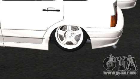 VAZ 2114 BPAN para GTA San Andreas vista posterior izquierda