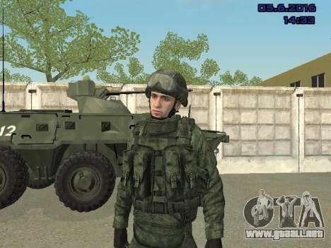 Modern Russian Soldiers pack para GTA San Andreas novena de pantalla