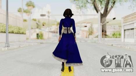 Bioshock Infinite Elizabeth Corset para GTA San Andreas tercera pantalla