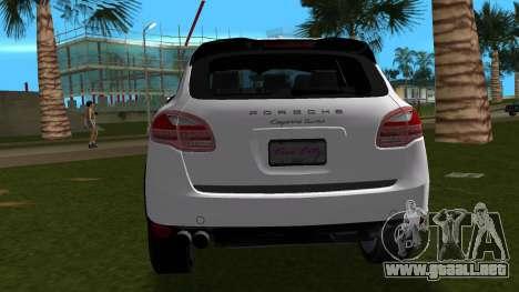Porsche Cayenne 2012 para GTA Vice City visión correcta