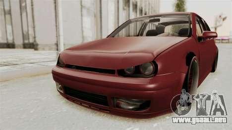 Volkswagen Golf Mk4 V5 Edited para GTA San Andreas