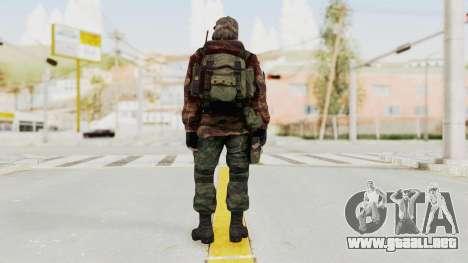 Battery Online Russian Soldier 2 para GTA San Andreas tercera pantalla