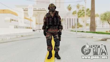 Battery Online Russian Soldier 6 para GTA San Andreas segunda pantalla