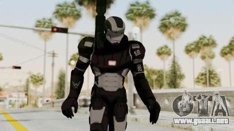 Marvel Heroes - War Machine (AOU) para GTA San Andreas