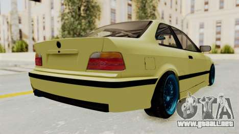 BMW M3 E36 Drift para GTA San Andreas left