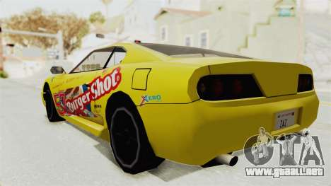 GTA 5 BuRGer Shot JeZter para GTA San Andreas vista posterior izquierda