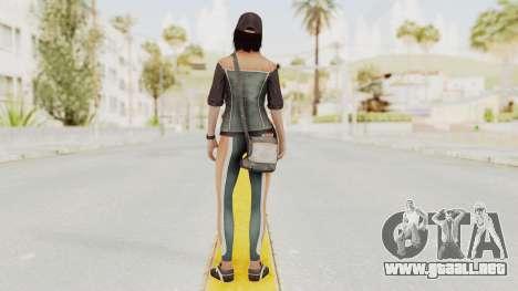Assassins Creed 4 - Rebecca Crane para GTA San Andreas tercera pantalla