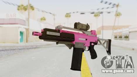 Special Carbine Pink Tint para GTA San Andreas
