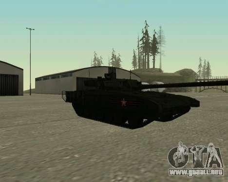 T-14 Armata para GTA San Andreas left