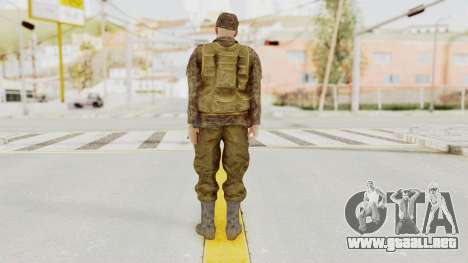 MGSV The Phantom Pain Soviet Union Vest v1 para GTA San Andreas tercera pantalla