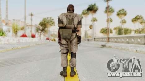 MGSV The Phantom Pain Venom Snake Desert para GTA San Andreas tercera pantalla