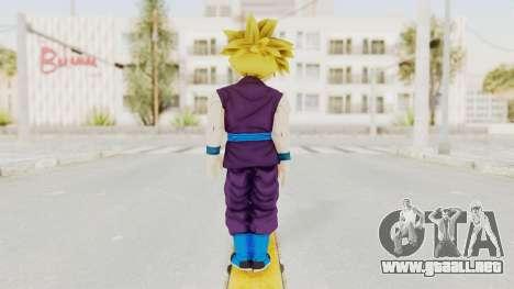 Dragon Ball Xenoverse Gohan Teen DBS SSJ1 v1 para GTA San Andreas tercera pantalla