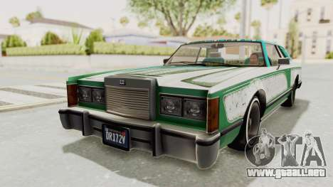 GTA 5 Dundreary Virgo Classic Custom v1 para las ruedas de GTA San Andreas