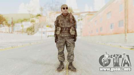 COD BO SOG Hudson v2 para GTA San Andreas segunda pantalla