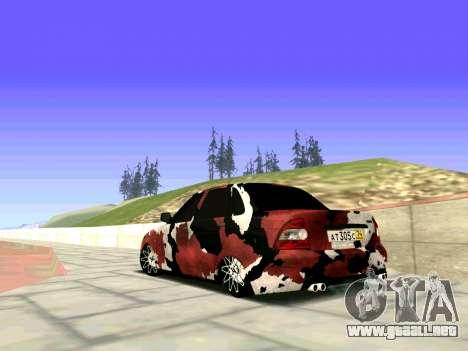 Lada Priora Camouflage para GTA San Andreas left