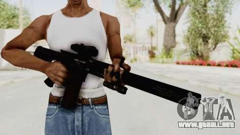 Colt M4 CQB S.W.A.T. para GTA San Andreas tercera pantalla