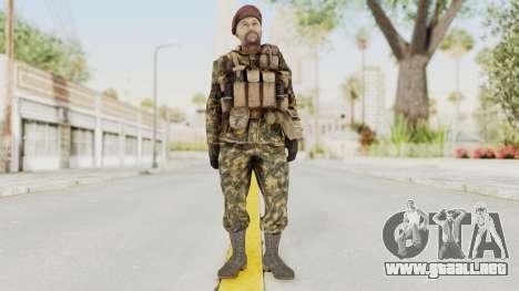 COD Black Ops Russian Spetznaz v7 para GTA San Andreas segunda pantalla
