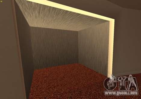 New Interior Radiocenter para GTA San Andreas tercera pantalla